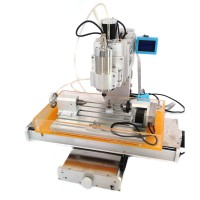 CNC Router Engraving Machine with 4 Axis Driver Board Ball Screw 1500W Spindle Motor HY3040