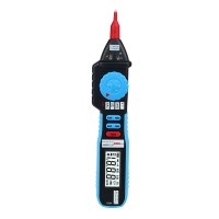 Digital Multimeter Auto Ranging Non Contact Voltage Clamp Meter Tester Diode Continuity Logic Test Aimotool AMS8211D