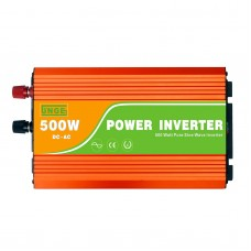 500W Pure Sine Wave Power Inverter DC24V to AC220V Converter for Home Solar System Car