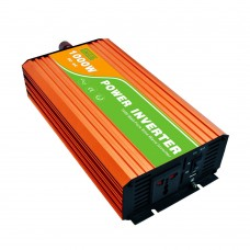 1000W Pure Sine Wave Power Inverter 12VDC to 220VAC Converter for Home Solar System Car