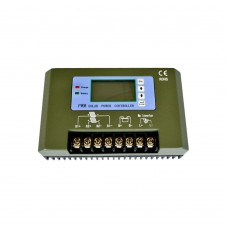 PWM Solar Power Controller 48V 50A LCD Solar Panel Regulator for Power System Battery