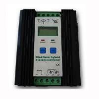Wind Solar Hybrid System Controller 300W PV & 600W Wind Generator LCD for Street Lamp