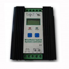 Wind Solar Hybrid System Controller 300W PV & 600W Wind Generator LCD for Street Lamp