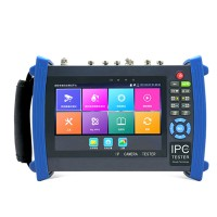 "7"" HD IP Camera CCTV Tester PTZ Control 1920x1200 Android System H.265 4K Video HDMI Input Support TVI3.0 IPC8600 Plus"