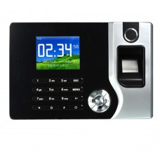 2.4'' Biometric TFT Fingerprint Attendance Time Clock+ID Card Reader+TCP/IP+USB