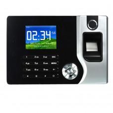 2.4'' Biometric TFT Fingerprint Attendance Time Clock+ID Card Reader+TCP/IP+USB