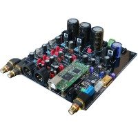 HiFi ES9018 TCXO 0.1PPM 4 Layer DAC Decoder w/ 3 RCA Assembled Board Audio Decoding