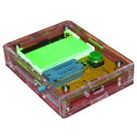 Transistor Tester Resistance Capacitance Diode Triode Inductor ESR Meter Infared Test