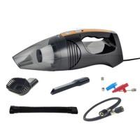 Car Vacuum Cleaner Aspirator 120W Inflator Wet And Dry Tire Pressure Gauge Pneumatic Lighting Black