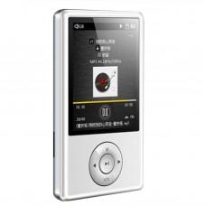 "X11 MP3 HIFI Music Player 8GB 2.4"" TFT Screen Support APE FLAC ALAC WAV WMA OGG MP3 White"