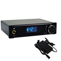 ALIENTEK D8 Hifi Audio Digital Headphone Amplifier 80Wx2 Coaxial Optical USB DAC Class D +Power Supply PCM2704 Black