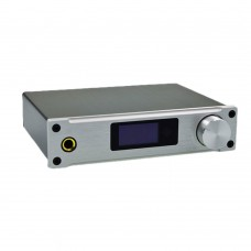 ALIENTEK D8 Hifi Audio Digital Headphone Amplifier 80Wx2 Coaxial Optical USB DAC Class D XMOS Silver