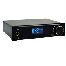 ALIENTEK D8 Hifi Audio Digital Headphone Amplifier 80Wx2 Coaxial Optical USB DAC Class D XMOS Black