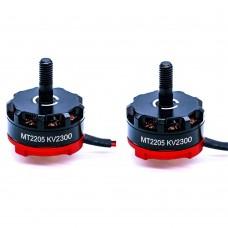 FPV 2205 Brushless Motor 2300KV CW CCW for QAV250 Quadcopter RC Drone Black 1Pair