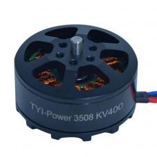 TYI Power 3508 Brushless Motor 400KV for Multirotor Quadcopter RC Plane Drone 1Pair