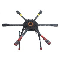 Tarot 810Sport FPV 6 Axis Hexacopter Multicopter Frame with Electric Retractable Landing Gear TL810S01