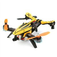 V Tail 210 FPV Drone 1080P HD DVR SP Racing F3 Flight Controller 5.8G 40CH 200mW VTX OSD ARF RC Multicopter Yellow