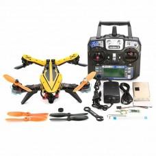 V Tail 210 FPV Drone 1080P HD DVR SP Racing F3 5.8G 40CH 200mW VTX OSD with Eachine I6 Remote Controller RTF Yellow