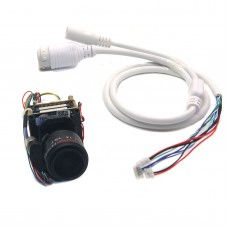 IP Camera Full Metal H.265 3MP Motorized Zoom Auto Focal LENS 2.8-12mm OV4689+Hi3516D CCTV IPC Module