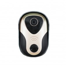 Wireless WiFi IR Video Smart Doorbell 720P HD Camera Monitor HD Visual Intercom for Android iOS