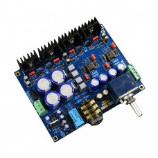 A1 Headphone Amplifier Board Audio AMP CNC Circuit Board DIY Kit Unassembled