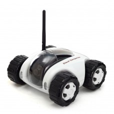 Wireless WiFi RC Spy Car Remote Moving Robot Tank IP Camera Smart Phone Remote Control Wireless Charging