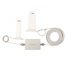 Sunhans Signal Booster Dual Band 3G Signal Repeater 900MHz 2100MHz Mobile Phone Amplifier SH-G900W2100-D2