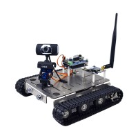 WIFI Smart Video Robot Car DIY Kit with Camera Wireless Android IOS Control for 51duino Arduino