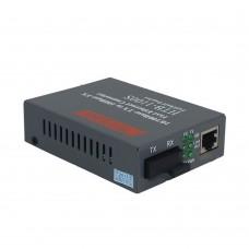 HTB-1100 Optical Ethernet Media Converter 10/100Mbps RJ45 Multi Mode Duplex Fiber SC Port Converter 2KM
