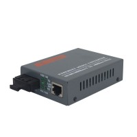 Gigabit Fiber Optical Ethernet Media Converter 1000Mbps Multi Mode Duplex SC Port 2KM
