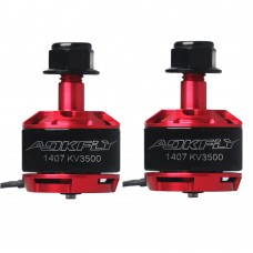 AOKFLY 1407 Brushless Motor 3500KV for FPV Racing Drone Multirotor Quadcopter 1Pair