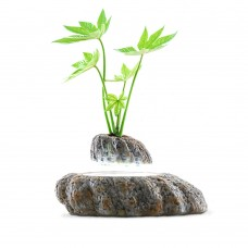 Magnetic Levitation Potted Plant Floating Decoration Green Miniascape Hanging Bonsai for Gift DIY