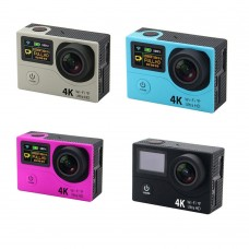 """H8R Action Camera DV 2.0"""" VR360 Ultra 4K 30fps Dual LCD WIFI Waterproof 30M Video Recording Sports Camcorder"""