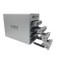 "ORICO 3559RUS3 3.5"" SATA Hard Drive RAID Enclosure 5 Bay eSATA HDD External Docking Station HDD Case"