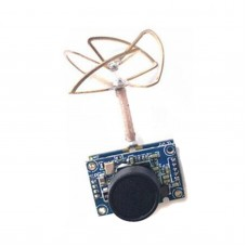 5.8G 25mW 40CH Wireless Transmitter Camera for FPV Racing Drone Quadcopter