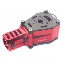Tarot Dia 25mm CNC Dual Motor Damper Base Anti Vibration Red TL96033