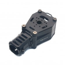 Tarot Dia 25mm CNC Dual Motor Damper Base Anti Vibration Black TL96032