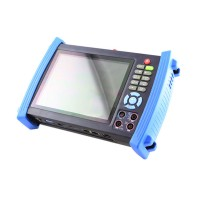 HVT-3600O 7inch LCD Screen CCTV Security Camera Tester Monitor IP Cable Scan HDMI Input PoE Test