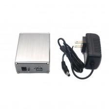 SU0 XMOS U8 USB DAC+ AK4490 Audio Hifi Top Asynchronous USB Decoder Headphone Amplifier with Power Adapter