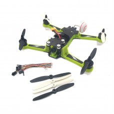 FMS S250 Pro BNF FPV Quadcopter Kit 280mm 4 Axis Drone Aerocraft with Motor Propeller Camera Support Aerial Photography