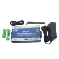 GSM Temperature Monitoring System for BTS Remote Data Acquisition Telemetrically BTS Access Control GPRS 3G M2M S271