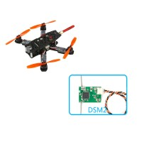KingKong 130GT Quadcopter 130mm Carbon Fiber FPV Racing Drone with Flight Controller+Camera+VTX+DSM2 RX
