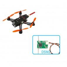 KingKong 130GT Quadcopter 130mm Carbon Fiber FPV Racing Drone with Flight Controller+Camera+VTX+DSM2 RX