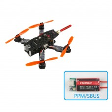 KingKong 130GT Quadcopter 130mm Carbon Fiber FPV Racing Drone with Flight Controller+Camera+VTX+FM800 RX