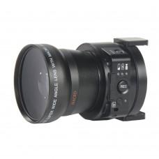 AMK OX5 Mini Selfie Lens Wifi Sport Camera Camcorder Full HD 1080P 20MP 4X Digital 5X Optical Zoom PC Cam