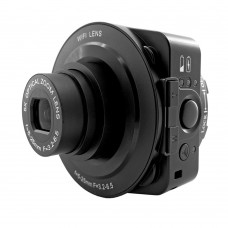 AMKOV JQ-1 Wifi Digital Camera Camcorder Selfie WIFI Lens 20MP 5X Optical 4X Zoom Full HD 1080P 30fps PC Cam