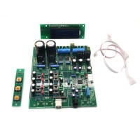 Assembled ES9018 DAC Audio Decoder Software Control 4 Layer Support Coaxial Optical Fiber USB