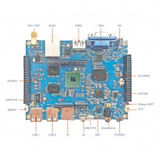 S5P4418 Quad Core Open Source Hardware Development Board Android 4.4 System