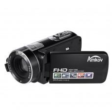 "AMKOV DV161 Video Camera Full HD 1080P 30FPS 2.7"" LCD 24MP 18X Digital Zoom Anti Shake DV Video Camcorder"