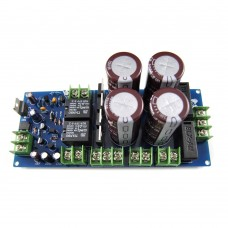 Rectifier and Filter Power Supply Board 63V 5600UF with LED Speaker Protection for Amplifier Assembled
